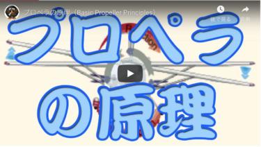プロペラの原理|プロペラが回転すると反作用を4つも生み出す!