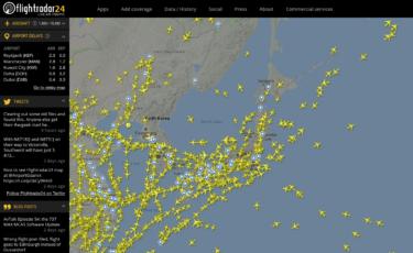世界中の飛行機と空港の今を知れる|フライトレーダー24の凄さ!