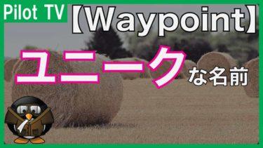 【ネーミング】福岡の辺りには面白い名前のウェイポイントがある!