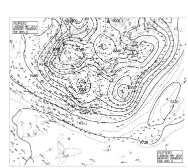 【AUPN30】北太平洋300hPa天気図の見方