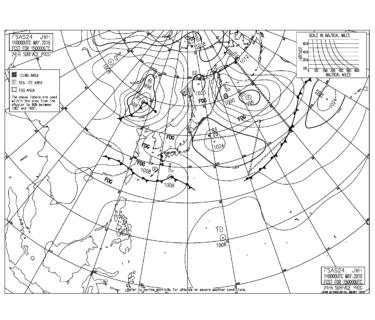 【FSAS24/FSAS48】アジア地上 24/48時間天気図の見方