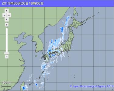 【天気:実況・解析情報】高解像度降水ナウキャストの見方