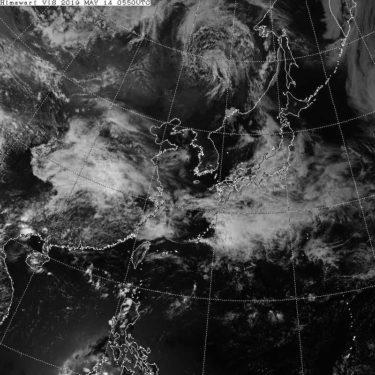 【気象衛星ひまわり】衛星画像の見方